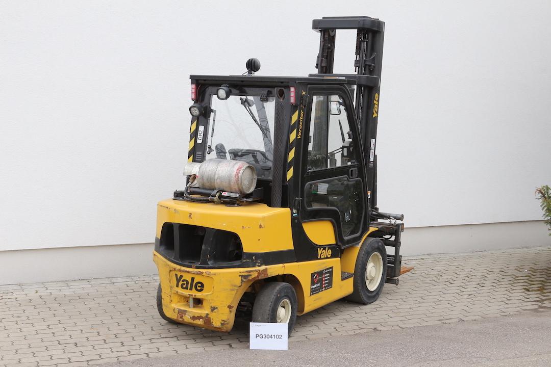 YALE GLP30VX használt targonca PG304102 -2