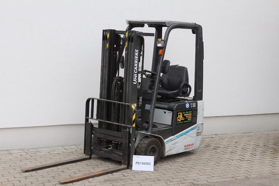 Unicarriers nissan elektromos targonca PE134302 -2