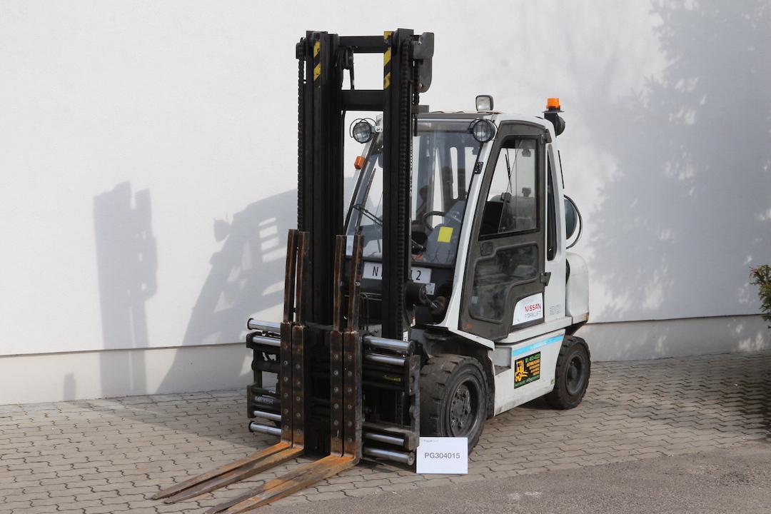 NISSAN DX30LPG használt gázüzemű targonca PG304015 -1
