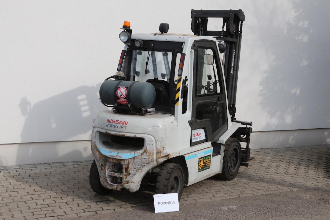 NISSAN DX30LPG használt gázüzemű targonca PG304015 -1 2