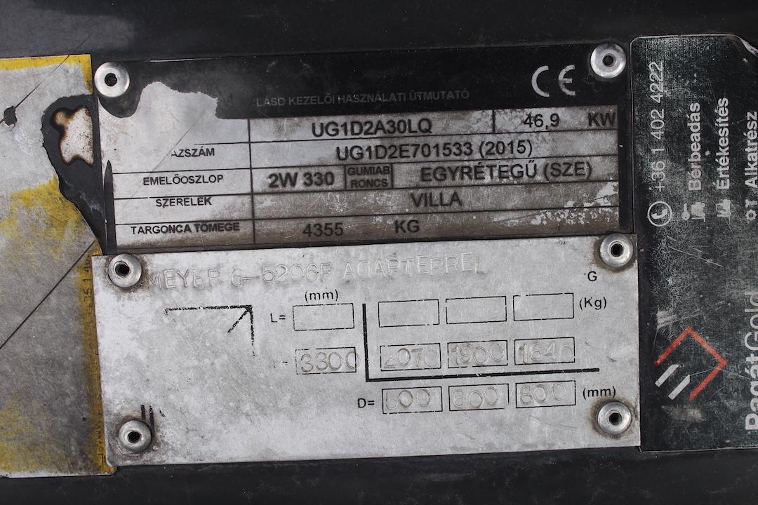 PG303336 Nissan gázos targponca3
