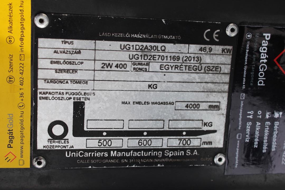 PG304025 Nissan gázos targonca2