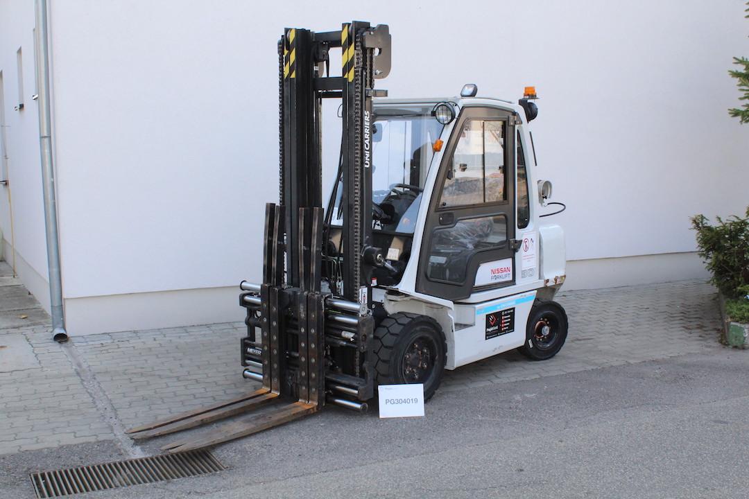 PG304019 Nissan gázos használt targonca Pagát