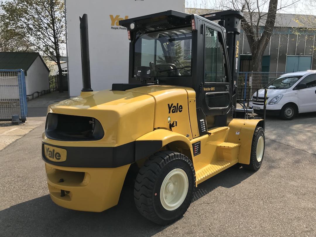 Yale GDP80VX9 típusú ÚJ dízel üzemű targonca eladó 5
