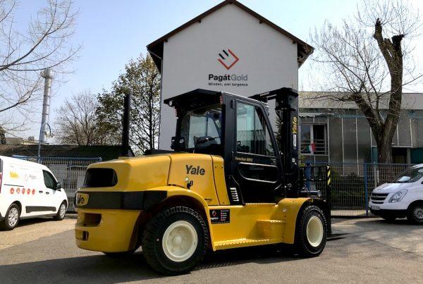 Yale GDP80VX9 típusú ÚJ dízel üzemű targonca eladó 7