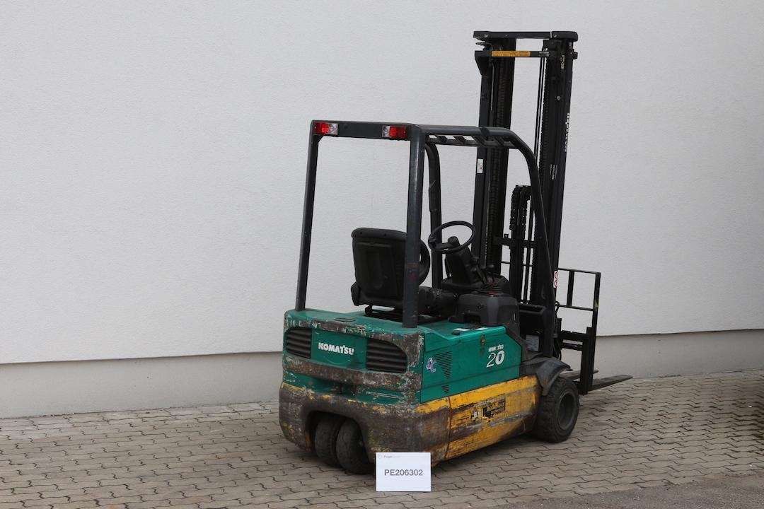 PE206302 Komatsu használt targonca elektromos -2