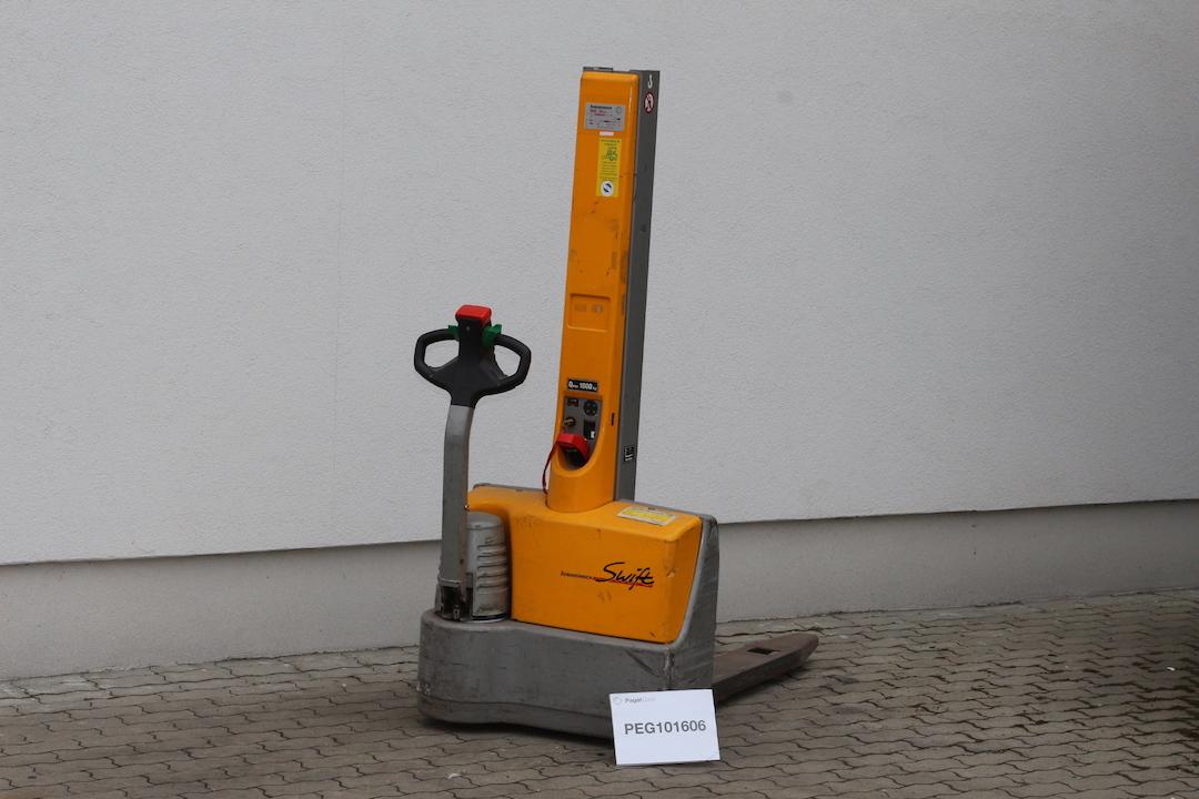 Jungheinrich Swift EMC10 gyalogkíséretű használt targonca PEG101606 - 2
