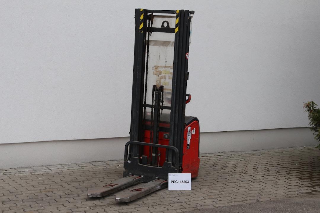 Linde L14 gyalogkíséretű használt targonca PEG145303- 2
