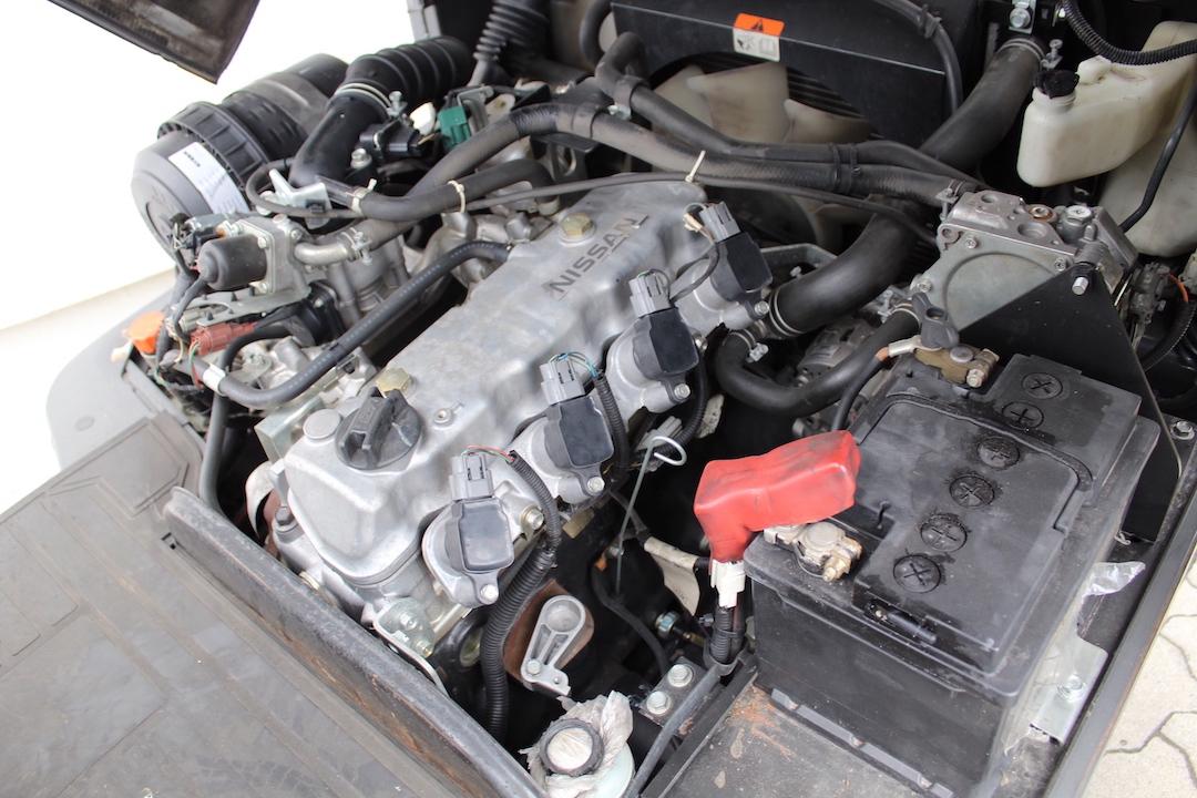 Nissan DX15LPG használt targonca PG153385-2
