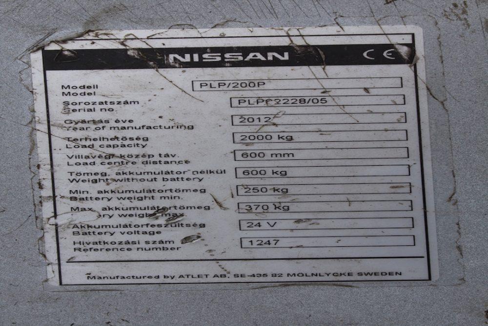 Használt Nissan PLP200