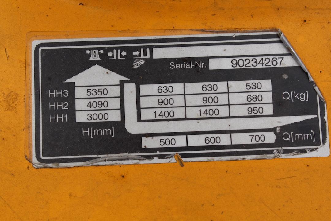 Jungheinrich EJC214 elektromos targonca PEG145308-3