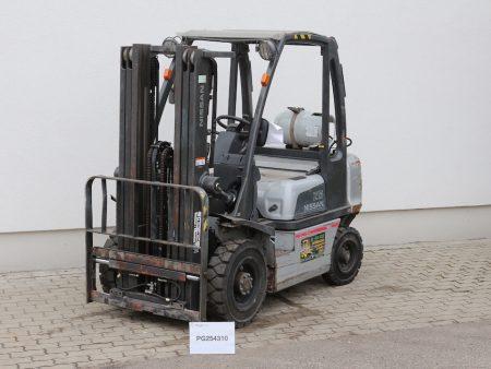 Nissan DX25LPG használt targonca PG254310
