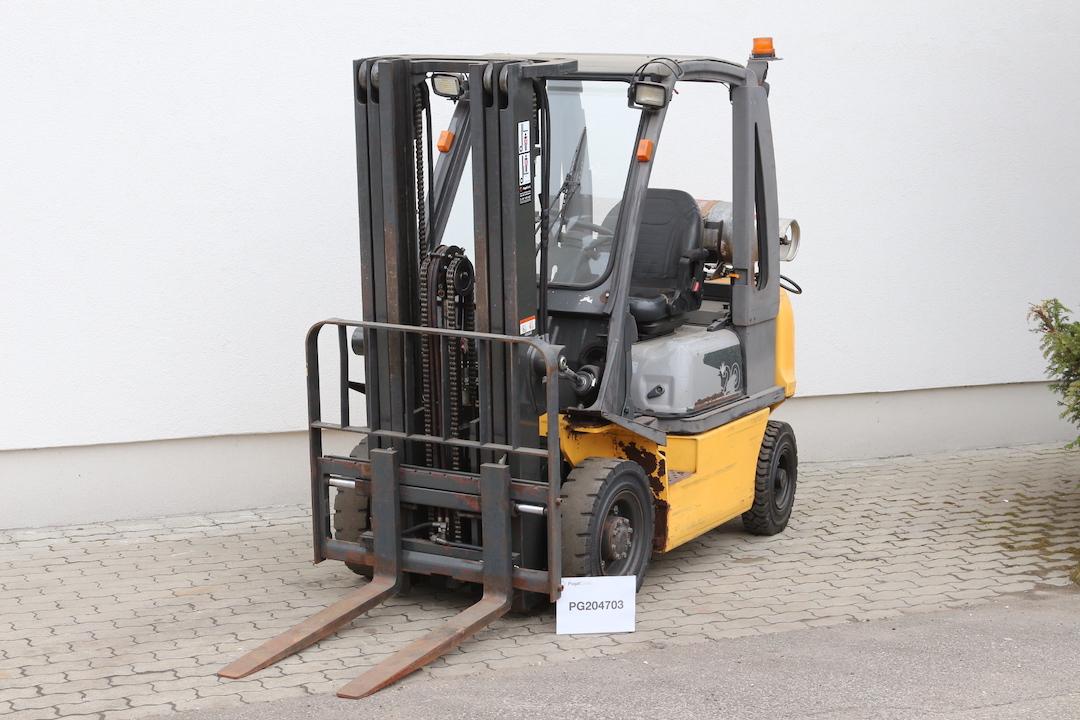 Atlet ( Nissan) U1D2A20LT gázos használt targonca PG204703