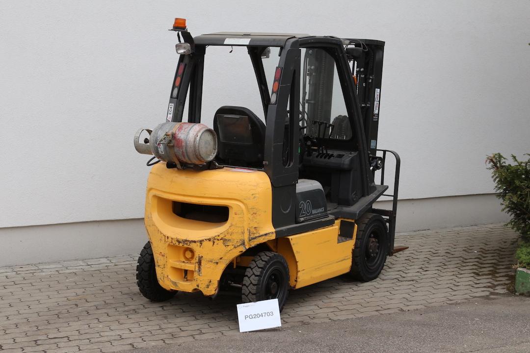 Atlet ( Nissan) U1D2A20LT gázos használt targonca PG204703-1