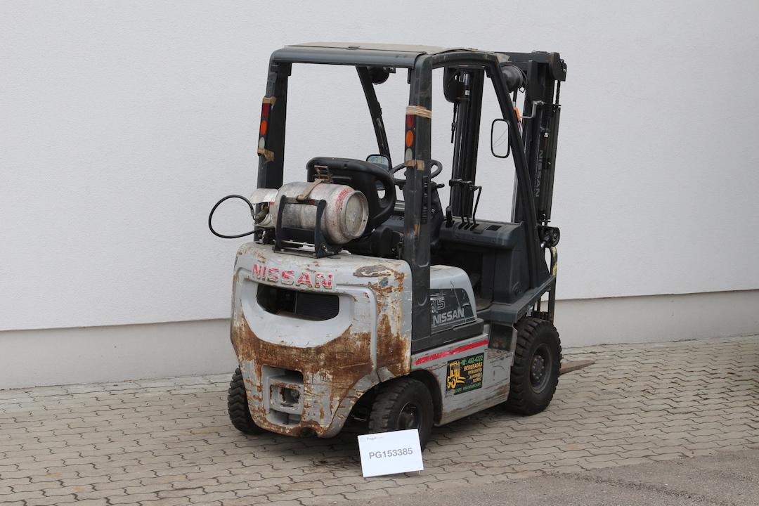 Nissan DX15LPG használt targonca PG153385-1