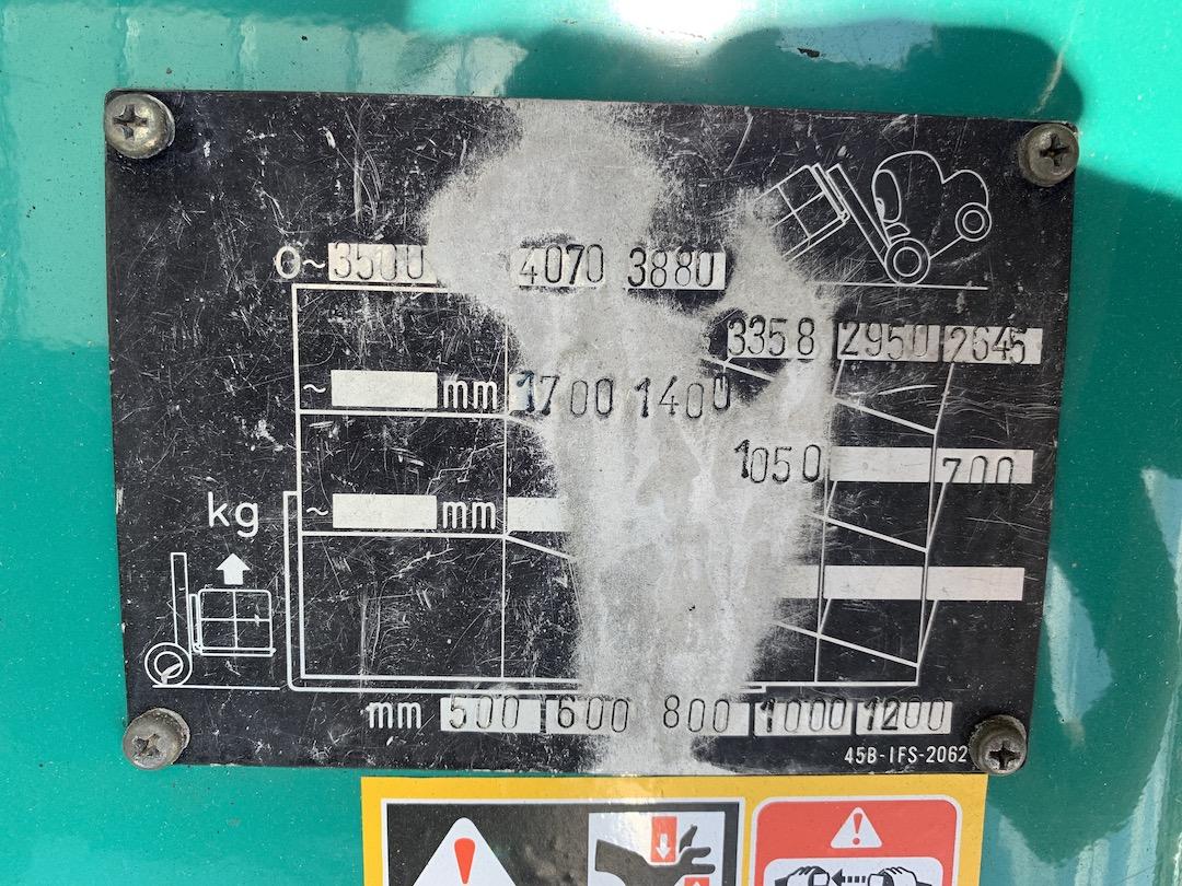 Komatsu FD45T-8 PD453502 targonca4