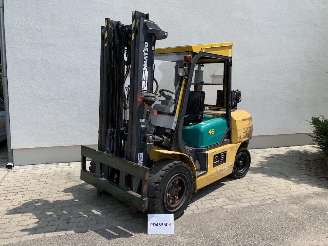 Komatsu FD45T-8 PD453502 targonca