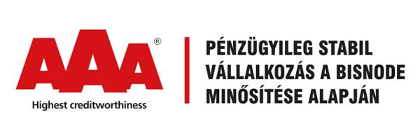 Bisnode AAA tanúsítvány megszerzése