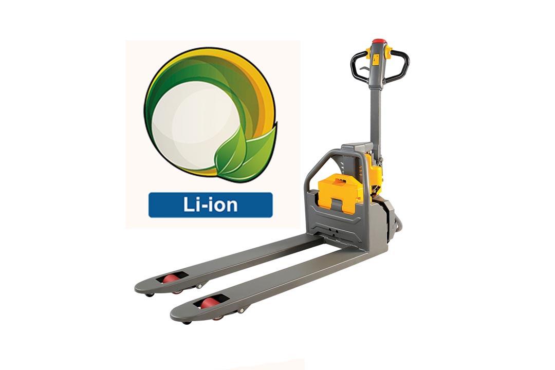 li-ion raklapemelő