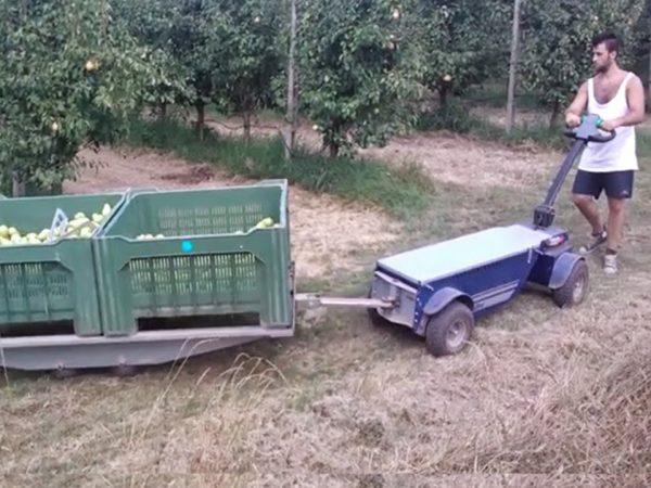 ipari vontató a mezőgazdaságban